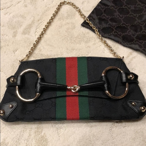 d47ccbc26f9 Gucci Handbags - Gucci Tom Ford Horsebit Chain clutchbag